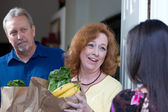 Food Relief Charity — Stock Photo