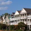 Executive Townhomes - Stock Photo