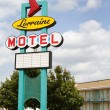 Lorraine Motel Sign — Stock Photo