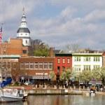 Постер, плакат: Annapolis Downtown Harbor