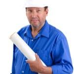 Happy Contractor — Stock Photo