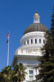 California Capitol Dome — Stock Photo