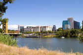 Sacramento City Skyline — Stock Photo