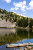 Emerald Lake Lassen NP — Stock Photo