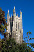 Duke Chapel Bell Tower — Stock Photo