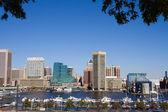 Baltimore Harbor Skyline — Stock Photo