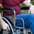 Disability Man Wheelchair — Stock Photo
