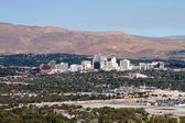 Reno Nevada Skyline — Stock Photo
