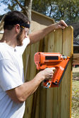 Portable Nail Gun — Stock Photo