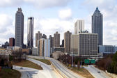 Downtown Atlanta Skyline — ストック写真