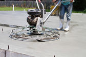 Power Concrete Finisher — Stock Photo