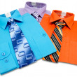 Colorful mens shirts — Stock Photo #12632711