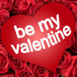 Be my valentine — Stock Photo #18755181