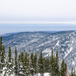 Baikal winter mountains — Stock Photo