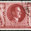 Stamp with Hitler - Stock fotografie