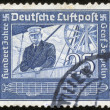 Stamp of fascist Germany - Stock fotografie
