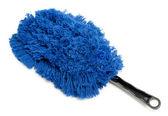 Blue cleaning brush — Stock Photo