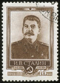 Stamp with Stalin — Stock Photo