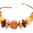 Amber necklace — Stock Photo #18761579