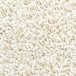 White shaggy carpet — Stock Photo