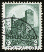 Stamp of fascist Germany — Stock Photo