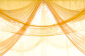 Window curtains — Stock Photo