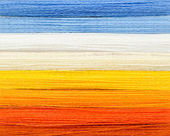 Woolen colorful threads — Stock Photo