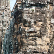 Angkor giant faces - Stock Photo