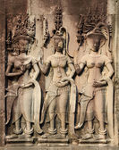 Low relief in Angkor — Stock Photo