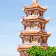 Buddhist pagoda in Vietnam — Foto de Stock
