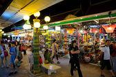 Siem reap mercado nocturno, camboya — Foto de Stock