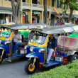 Stock Photo: Different taxis in Bangkok