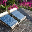 Solar water heating - Stockfoto