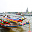 Bangkok - tourist boats — Stock Photo