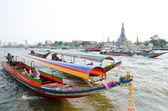Bangkok - tourist boats — Stock Photo
