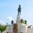 Statue of King Vajiravudh, Bangkok — Stock Photo #24157681