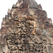 Stock Photo: Bas relief in TProhm in Angkor, Cambodia