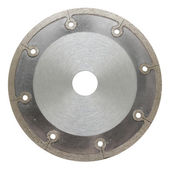 Abrasive disc for metal cutting for eccentric instruments — Stock Photo