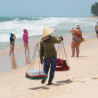 Vietnam beach - Stock Photo