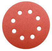 Perforated abrasive wheel — Stock Photo