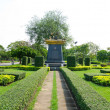 Chaipattana Aerator (Kings invention) in Bangkok Lumpini Park — Stock Photo