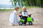 свадебное путешествие — Стоковое фото