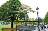 Gran palacio, bangkok — Foto de Stock