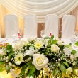 Wedding banquet table — Stock Photo #35792101