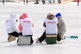 贝加尔湖钓鱼 2012 — 图库照片