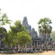 Stock Photo: Bayon in Angkor, Cambodia