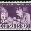 Stamp of fascist Germany — Stock Photo