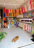 Klädaffär, vietnam — Stockfoto
