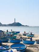 Vietnamese fishing boats — Stock Photo