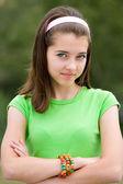 Bella ragazza adolescente — Foto Stock